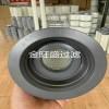 金旺盛生产供应高效覆PTFE膜除尘滤筒 高3米除尘滤筒